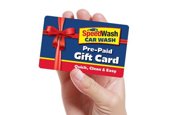Speedwash Car Wash Gift Cards